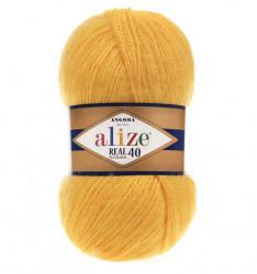 Angora Real 40 - 216 Yellow