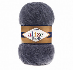 Angora Real 40 - Denim Melange 411