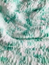 Păturica Soft Green