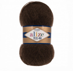 Angora Real 40 - Brown 201