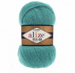 Angora Real 40 - Teal Blue 570