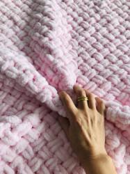 Păturica Baby Pink