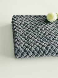 Păturica Cool Grey
