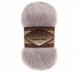Angora Gold Simli 163 Rose Grey