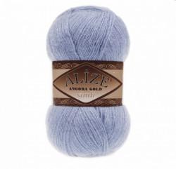 Angora Gold Simli 40 Blue