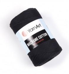 Macrame Cotton 750 Black