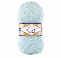 Angora Real 40 - Light Aqua 522