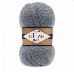 Angora Real 40 - Medium Grey 87