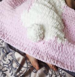 Păturica Iepuraș pentru fetițe