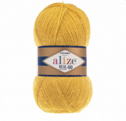 Angora Real 40 - Dark Yellow 488