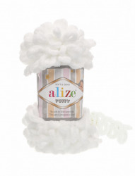 Alize Puffy White