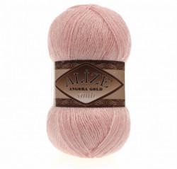 Angora Gold Simli 363 Wedding Pink