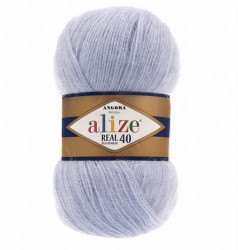 Angora Real 40 - Light Blue 51