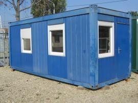Container birou cu 6 ferestre