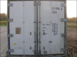 Poze Container izoterm 20'