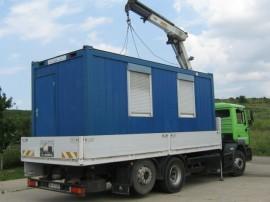 Poze Container birou cu 2 intrari separate