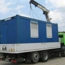 Container cu  2 intrari