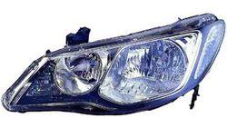 Farol Direito Eletrico Fumado Honda Civic Sedan 4P 06-08