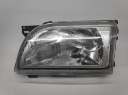 Farol Esquerdo Eletrico Ford Transit 91-00 Lente Plastica
