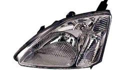 Farol Esquerdo Eletrico Honda Civic Hatchback 3 / 5P 01-03