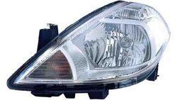 Farol Esquerdo Manual Nissan Tiida 07-10