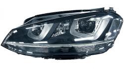 Farol Esquerdo Led H7+D3S+H21 Volkswagen Golf VII | 12-17