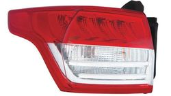 Farolim Direito Tras C/ Porta-Lampadas Branco Vermelho Led exterior Ford Kuga II 13-17