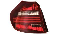 Farolim Esquerdo Bmw S-1 E87 5P 03-12 / E81 3P 06-12 Vermelho Escurecido