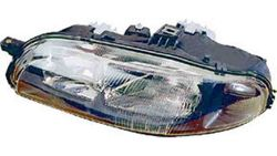 Farol Direito Manual Fiat Bravo / Brava / Marea 95-01