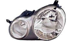 Farol Esquerdo Eletrico Vw Polo 9N 01-05 C/ Motor