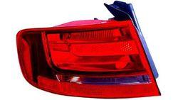 Farolim Esquerdo Audi A4 08-11 Exterior