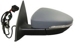 Espelho Esquerdo P/ Pintar C/ Pisca 6 Pinos Volkswagen Eos | 11-15