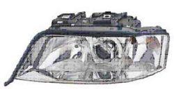 Farol Direito Eletrico Audi A6 97-99 Xenon + H7