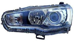 Farol Direito Mitsubishi Lancer 08-