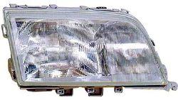 Farol Esquerdo Mercedes W202 C Class 93-00 H1+H1+H3