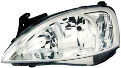 Farol Esquerdo Opel Corsa C 03-06