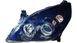 Farol Esquerdo Opel Vectra C 05-08 Mascara Preta