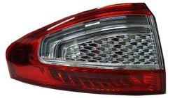Farolim Esquerdo S/ Porta-Lampadas Branco-Vermelho Led Ford Mondeo IV 4P 10-14