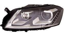 Farol Direito Led + D3S Tipo Valeo Volkswagen Passat 10-14