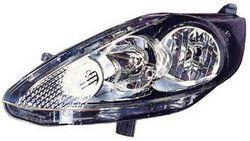 Farol Esquerdo Eletrico C/ Motor Ford Fiesta VI 3 / 5P 08-13 Mascara Preta
