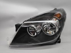 Farol Esquerdo Opel Astra H 04-11 Fundo Preto