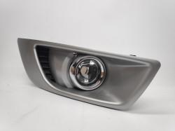 Farol NEvoeiro Direito Transparente Ford Mondeo IV 07-10 Grelha Prata