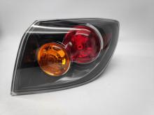 Farolim Direito Mazda 3 Hatchback 5P 03-07 Mascara Preta