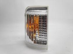 Pisca Espelho Esquerdo Peugeot Boxer 06-14 Laranja
