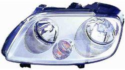 Farol Direito Eletrico Vw Caddy 04-09 H1+H7