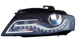 Farol Esquerdo C/ Luz Diurna Audi A4 08-11