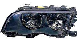 Farol Direito Eletrico Bmw S-3 E46 4P/ Touring 98-01 Mascara Preta