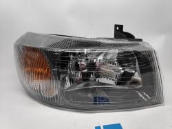 Farol Direito Eletrico Ford Transit 00-06 Mascara Preta