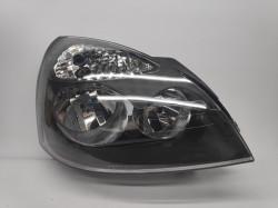Farol Direito Renault Clio II 01-05 Mascara Preta