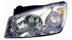 Farol Esquerdo Eletrico C/ Motor Kia Cerato 05-07